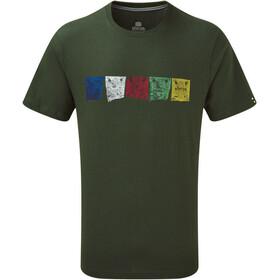 Sherpa Tarcho Camiseta Hombre, Oliva